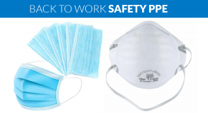 Back to work PPE